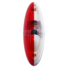 Jokon SPL2010 12.0013.030 Caravan Motorhome Red White End Outline Side Marker Light Lamp